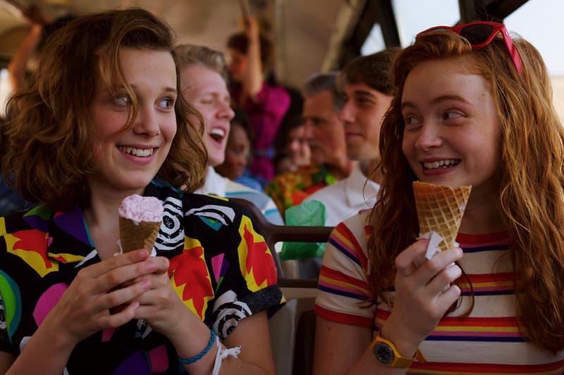 Stranger Things Season 3 Eleven Max Millie Bobby Brown Sadie Sink Netflix Ice Cream Bus