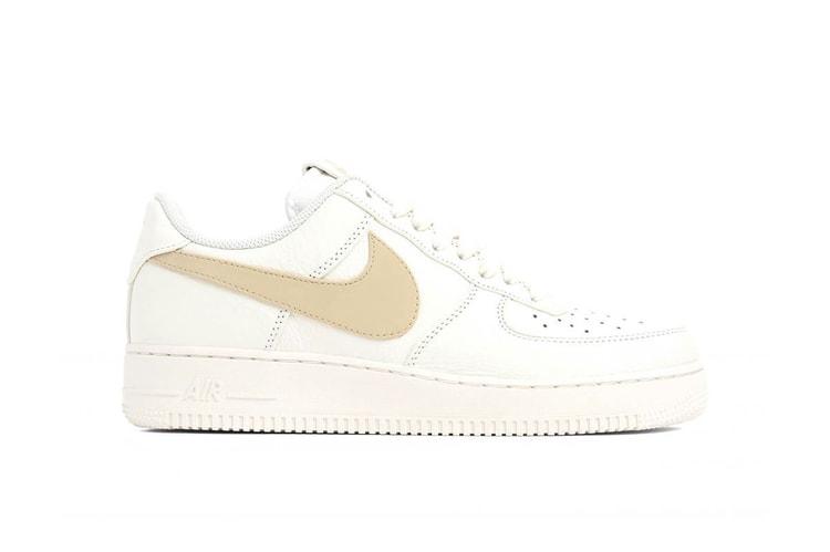 4ba1aa05c5 Nike Air Force 1 Wolf Grey With Silver Glitter | HYPEBAE