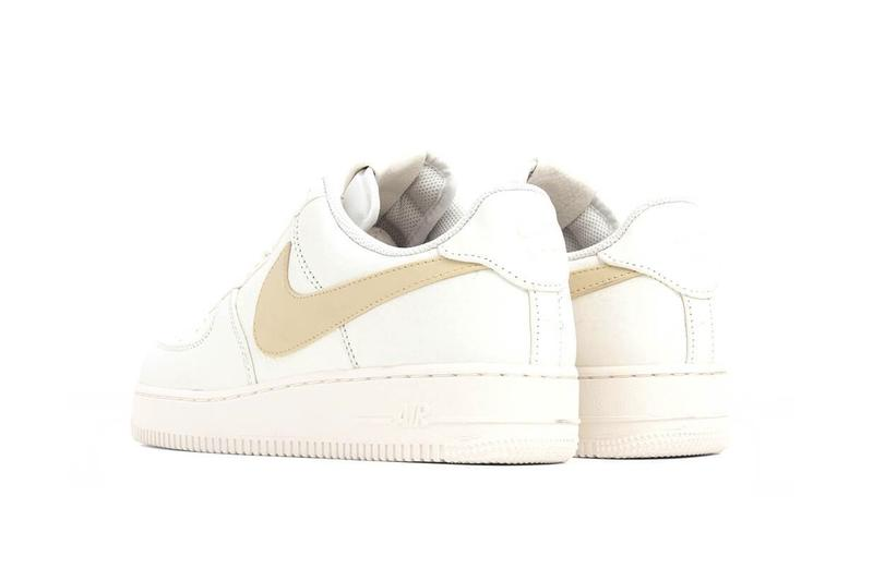 Nike Air Force 1 White Sail/Pale Vanilla Sneaker Shoe Trainer Summer Footwear Classic Silhouette