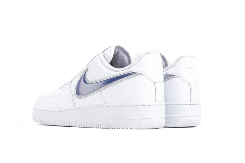 "Nike Air Force 1 ""Racer Blue""/""Orange Peel"" White Sneaker Trainer Shoe Holographic Swoosh Where To Buy Classic Silhouette Signature Summer"