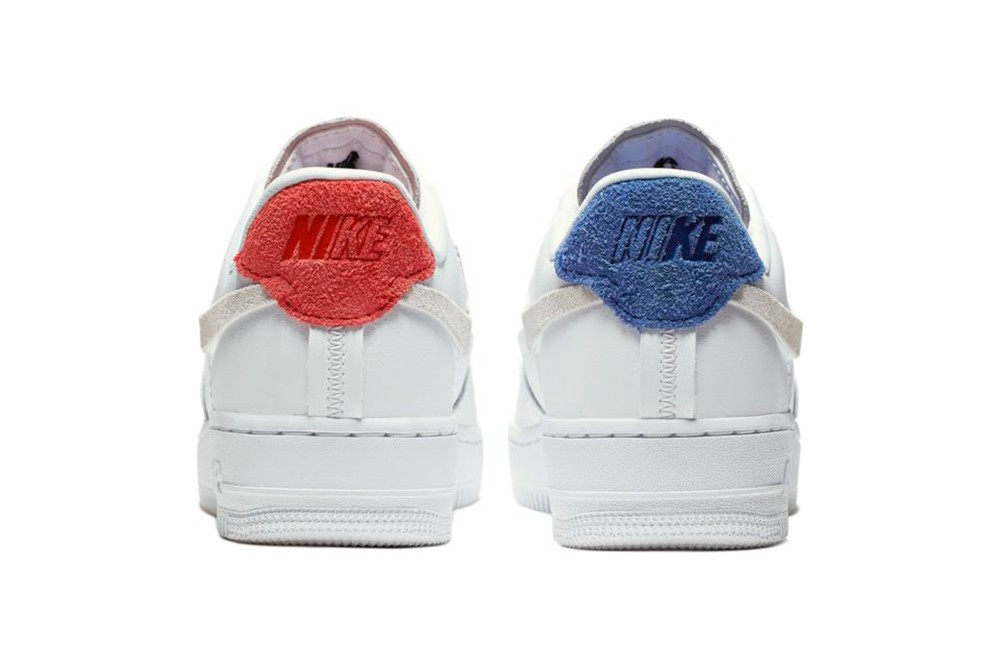 Nike Air Force 1 Vandalized Mismatched Swoosh Hypebae
