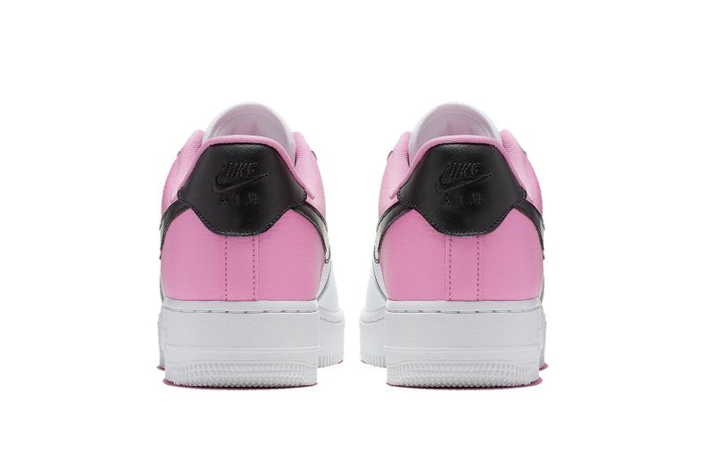 "Nike Air Force 1 Sneaker Trainer ""China Rose"" Lacelocks Pink White Black Swoosh Shoe Footwear Releases Where To Buy Air Force 1 Sneaker"