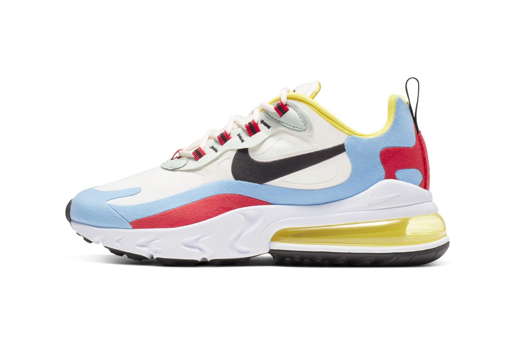 Nike Debuts Air Max 270 React Sneakers