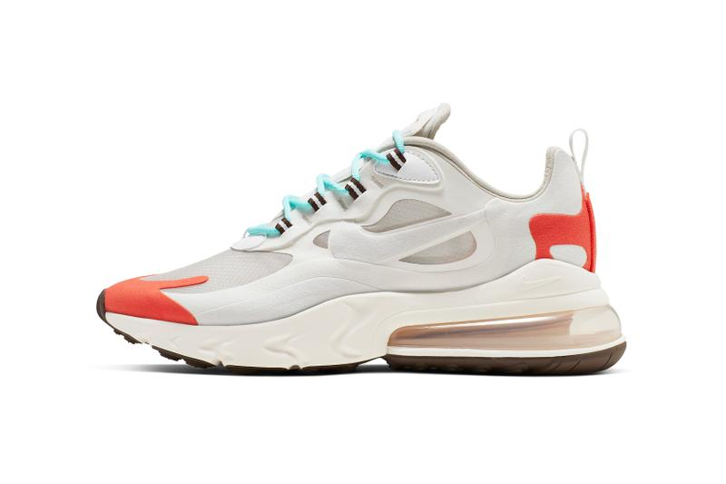 Nike Air Max 270 React White Magenta