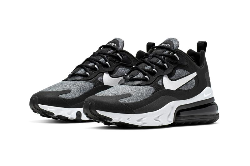 Nike Air Max 270 React Black White