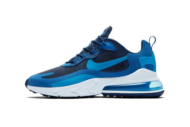 Nike Air Max 270 React Blue White