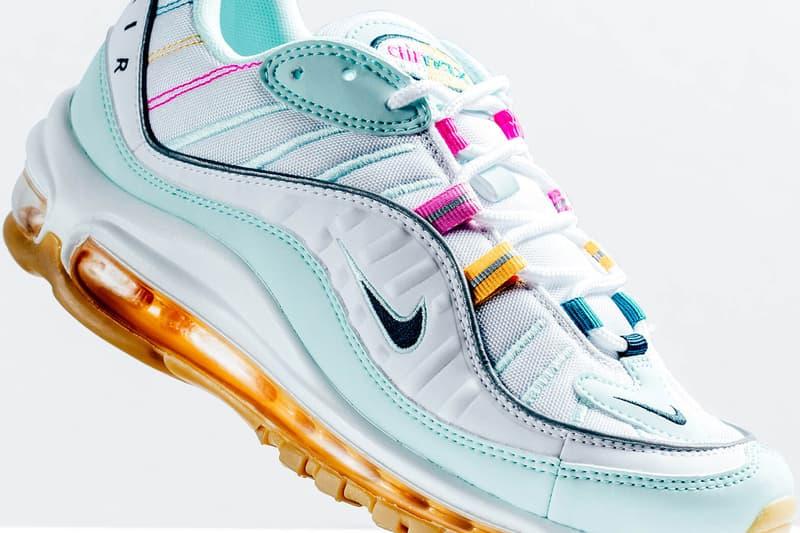 Nike Air Max 98 Teal Tint Nightshade Spirit Sneaker