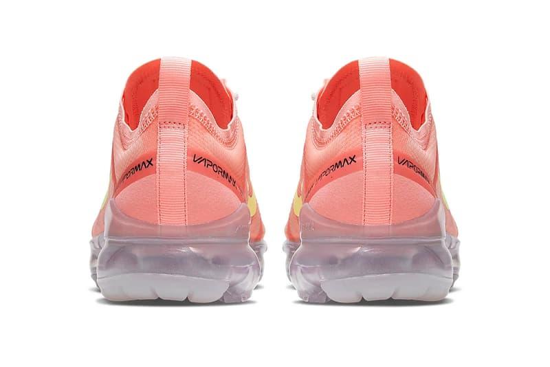 Nike Air VaporMax 2019 Pink Tint Light Cream Coral