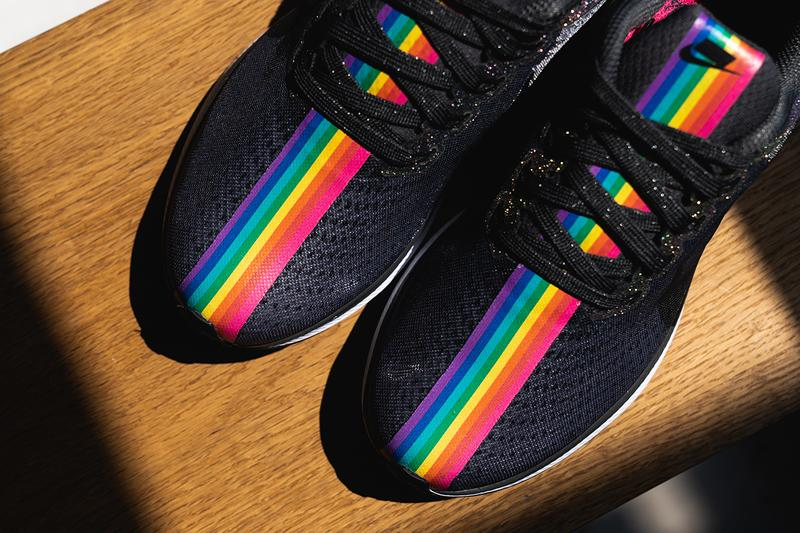 b98e4ec6a2 Nike Betrue Pride Month 2019 Rainbow Sneakers LGBT LGBTQ Zoom Pegasus Turbo