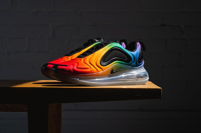 Nike Betrue Pride Month 2019 Rainbow Sneakers LGBT LGBTQ Air Max 720