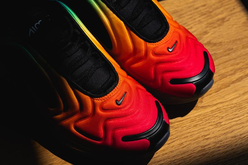 d01088a1af Nike Betrue Pride Month 2019 Rainbow Sneakers LGBT LGBTQ Air Max 720