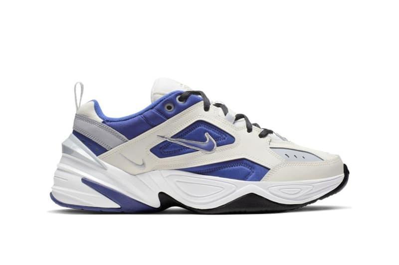 "Nike M2K Tekno ""Sail/Deep Royal Blue"" Release Chunky Sneaker Trainer Shoe Footwear Dad Crep Blue White Sea Summer Design"