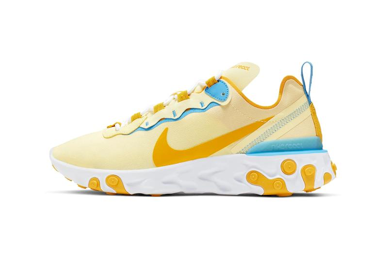 Nike React Element 55 Bicycle Yellow Universal Blue