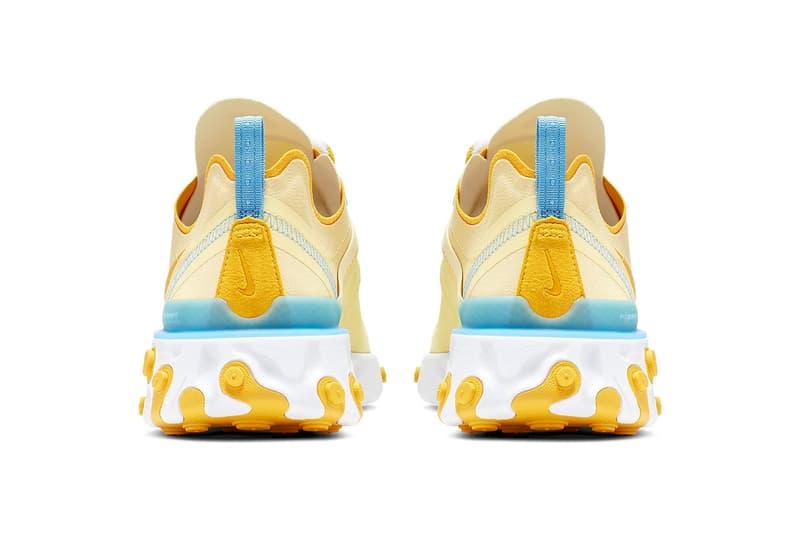 Nike React Element 55 Bicycle Yellow Universal Blue