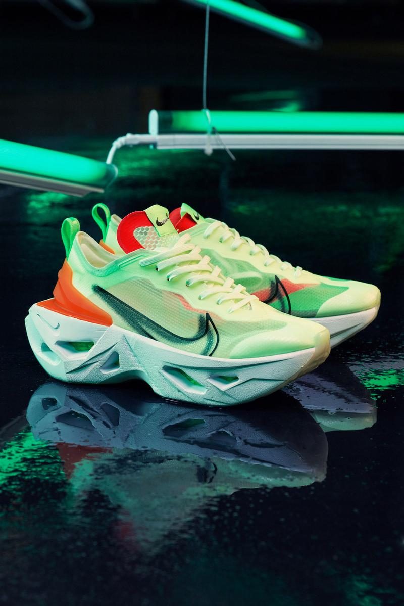 Nike ZoomX Vista Grind Sneaker Editorial Release Futuristic Chunky Midsole Trainer Shoe Footwear Campaign AFEW