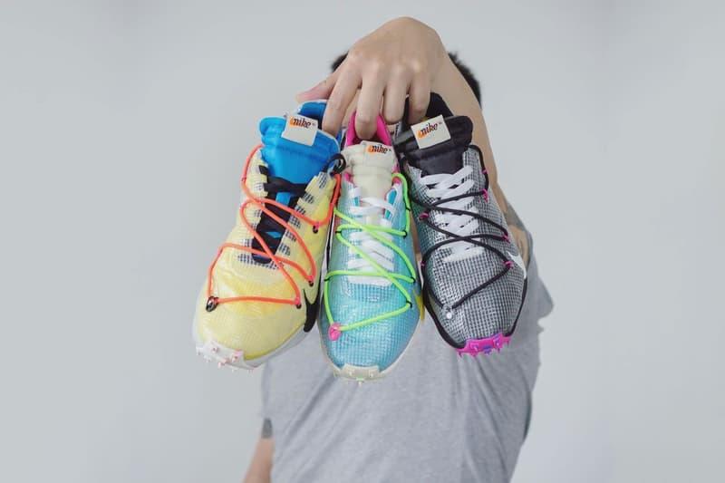 off white nike virgil abloh vapor street sneakers footwear