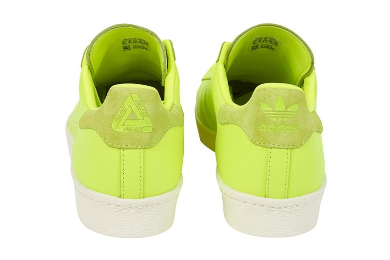Palace x adidas Originals Superstar Spring Summer 2019 Green