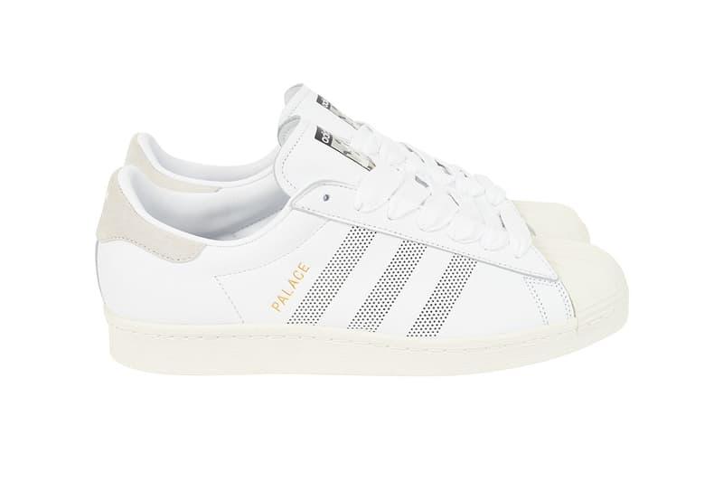 Palace x adidas Originals Superstar Spring Summer 2019 White