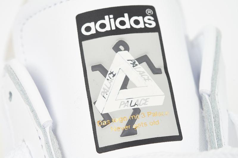 Palace x adidas Originals Superstar Spring Summer 2019 White