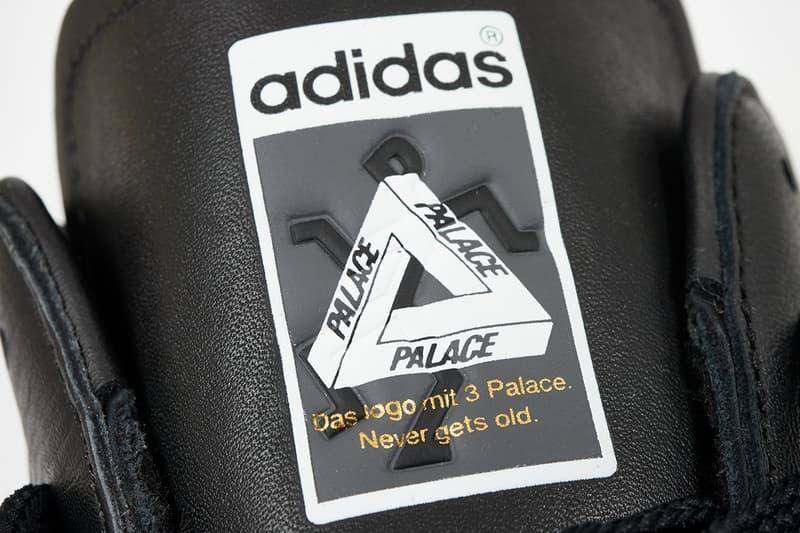 Palace x adidas Originals Superstar Spring Summer 2019 Black