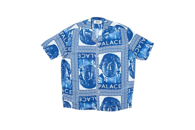 Palaces Logo Shirt Statue Print Button Up
