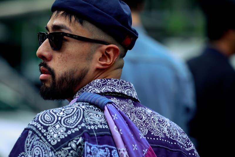 Paris Fashion Week Men's Spring Summer 2020 Street Style Shirt Purple