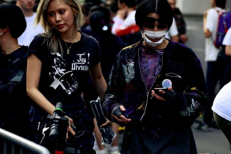 Paris Fashion Week Men's Spring Summer 2020 Street Style Shirts Black