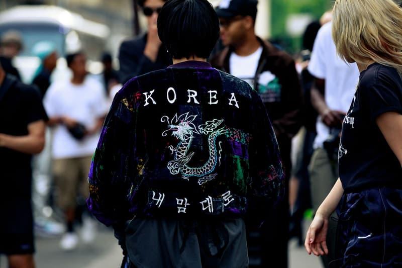 Paris Fashion Week Men's Spring Summer 2020 Street Style Jacket Black