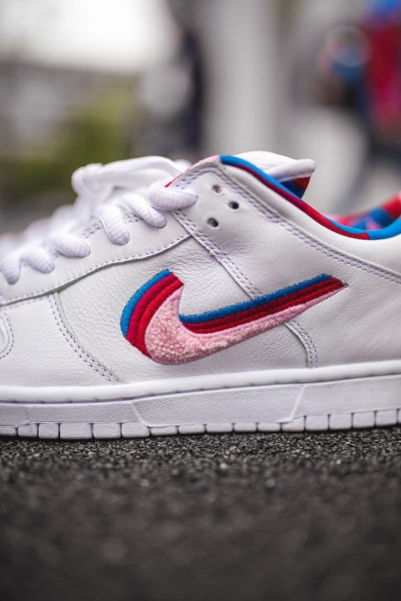 Parra x Nike SB Dunk Low White