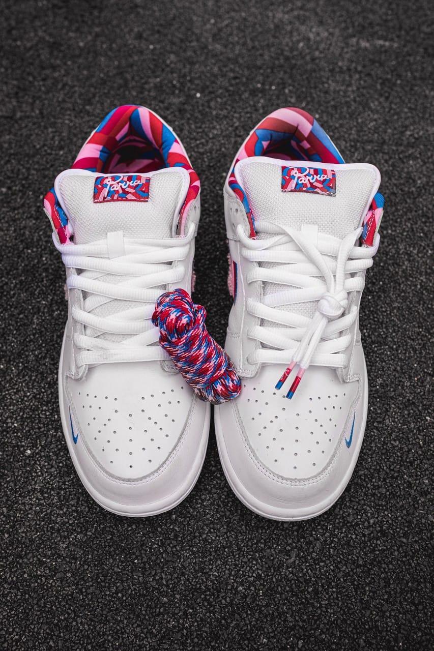 Parra x Nike Debut SB Dunk Low, a