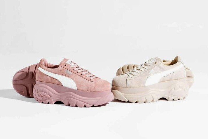 cb78335d95d PUMA x Buffalo London Platform Suede Sneakers | HYPEBAE