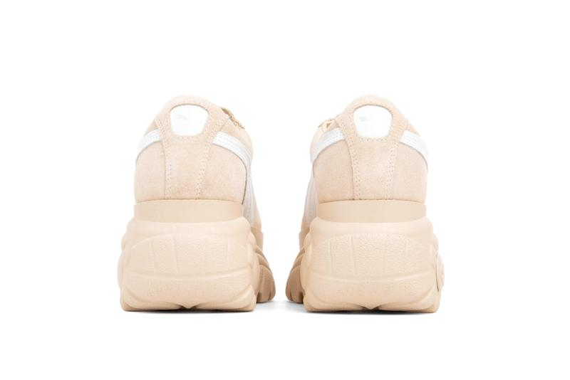 PUMA x Buffalo London Platform Suede Sneakers Pink Beige Release Date Where to Buy Platform Puma Shoe Trainer