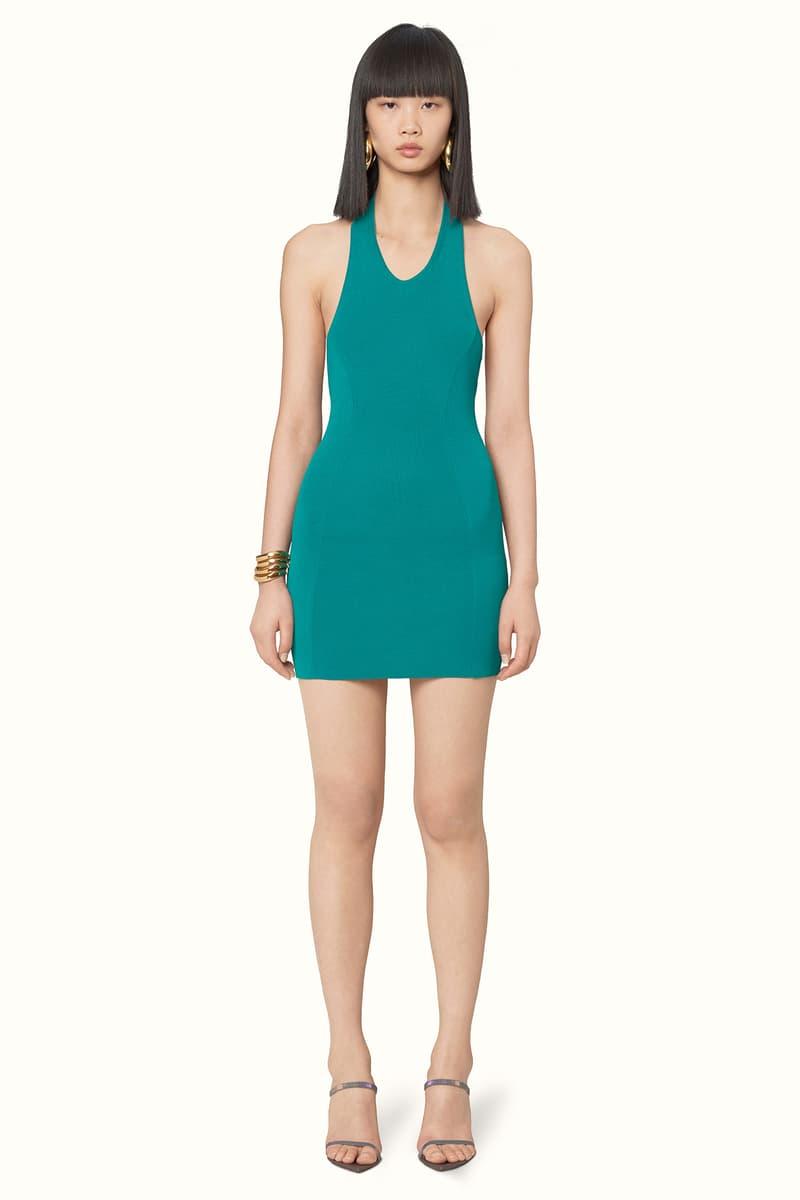 Rihanna Fenty LVMH Luxury Fashion Brand Maison Release 6 19 green dress heels sandals