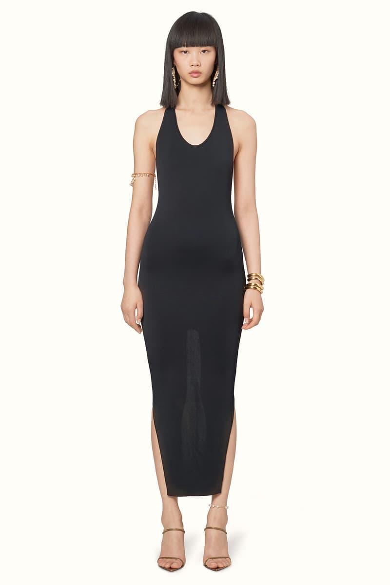 Rihanna Fenty LVMH Luxury Fashion Brand Maison Release 6 19 black dress heels sandals