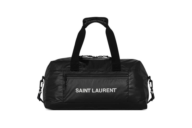 Saint Laurent Nuxx Duffle Bag Black
