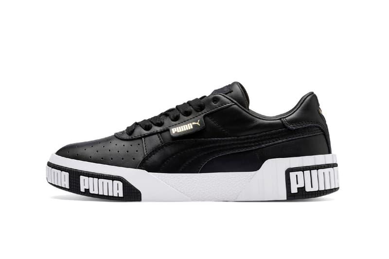 Selena Gomez PUMA Cali Bold Sneaker Campaign White Black Logo Shoe Trainer Release Summer Footwear
