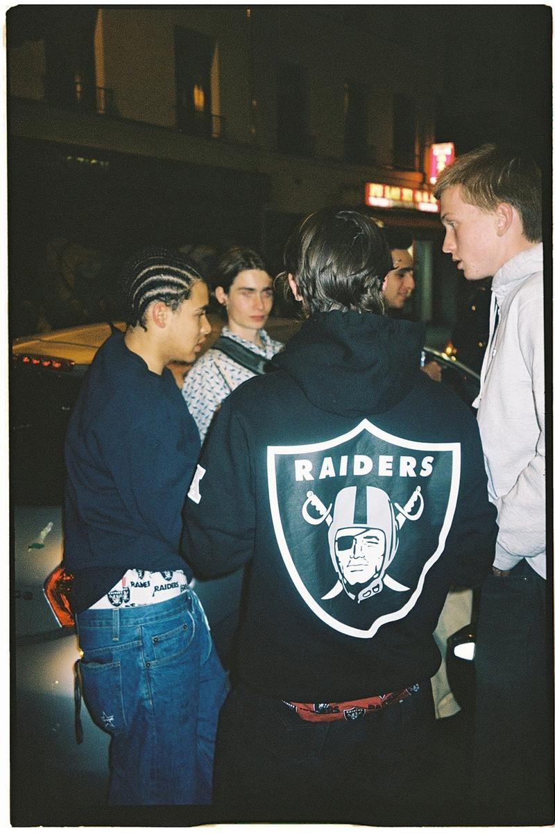 Supreme x NFL Spring Raiders '47 Collection Release Date Collection Full Look Pieces Shorts Logo Drop