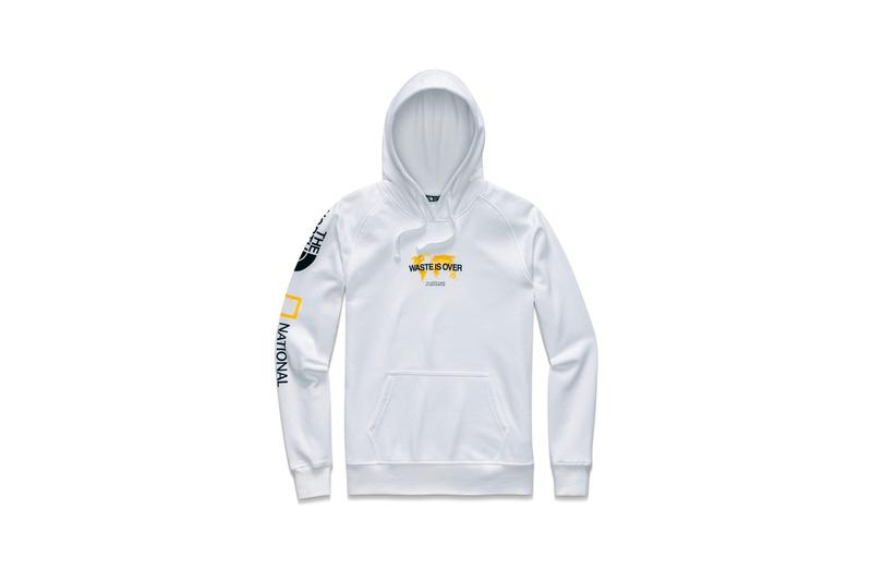 The North Face x National Geographic Bottle Source Collection Hoodie White