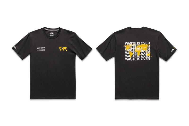 The North Face x National Geographic Bottle Source Collection T Shirt Black