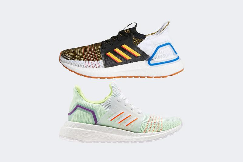 Toy Story 4 x adidas Collection UltraBOOST 19 Buzz Woody White Green Brown Black