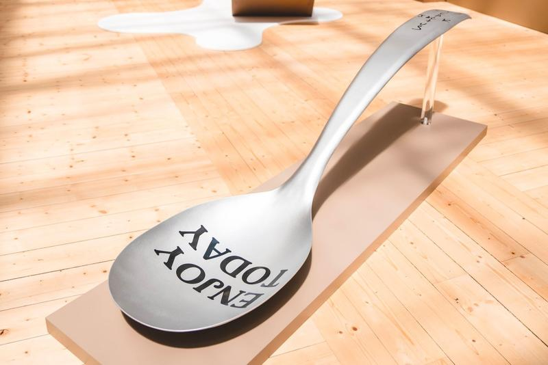 Travis Scott Reese's Puff Paris Pop Up Shop Spoon