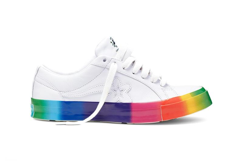 Tyler The Creator Rainbow GOLF le FLEUR One Star First Look Release Date Pride Drop Launch Sneaker Shoe Converse