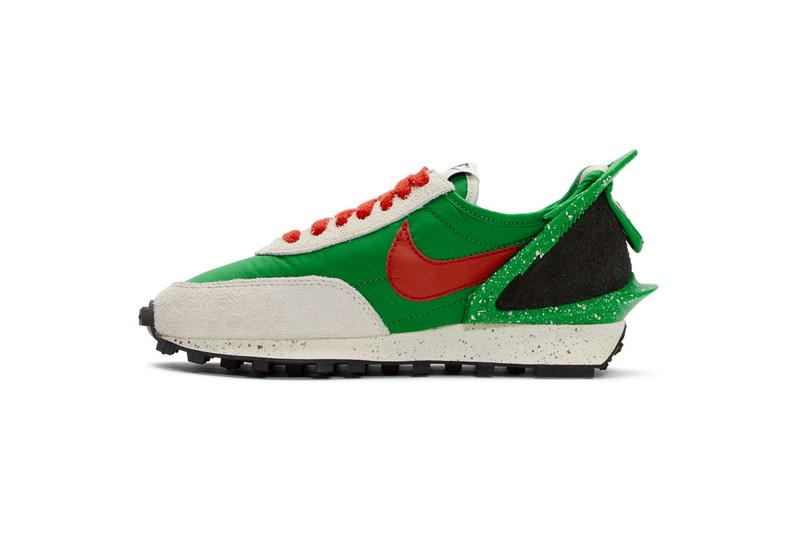 nike undercover jun takahashi daybreak sneakers footwear black lucky green