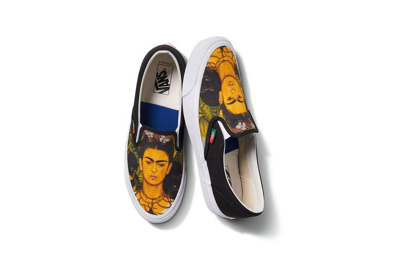 vault by vans frida kahlo mexican artist sneakers footwear authentic slip on sk8 hi