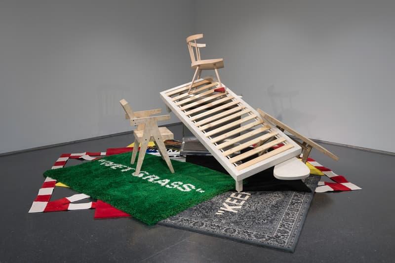 Virgil Abloh MCA Chicago Exhibit Furniture Designs