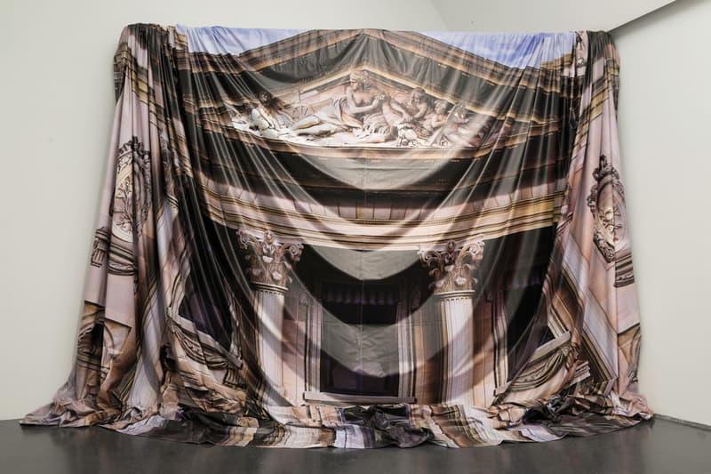 Virgil Abloh MCA Chicago Exhibit Tapestry Design