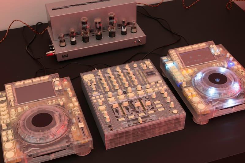 Virgil Abloh MCA Chicago Exhibit DJ Equipment