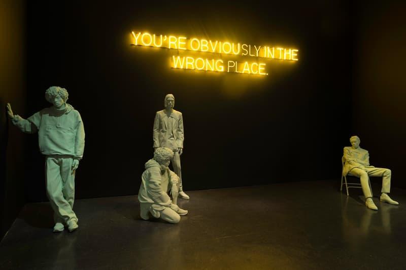 Virgil Abloh MCA Chicago Exhibit Louis Vuitton Men's Collection
