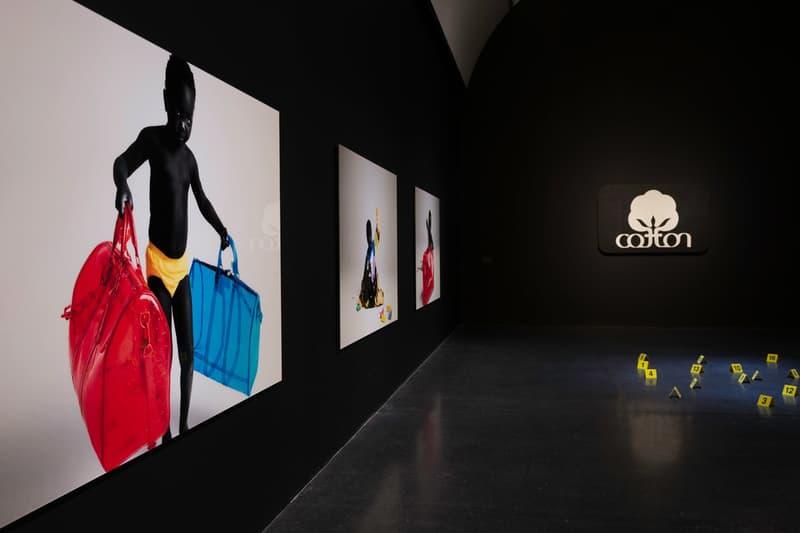 Virgil Abloh MCA Chicago Exhibit Louis Vuitton Men's Collection Campaign