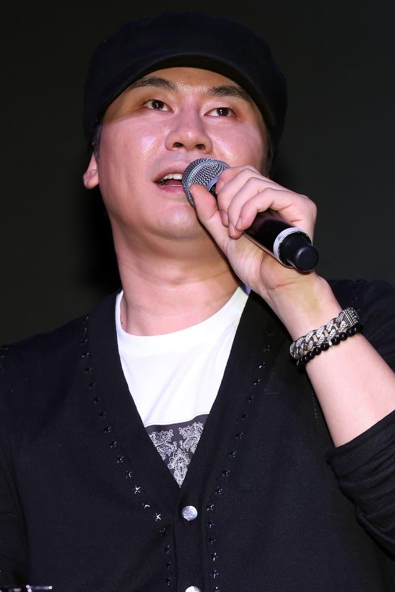 Yang Hyun-suk Cardigan Black Shirt White